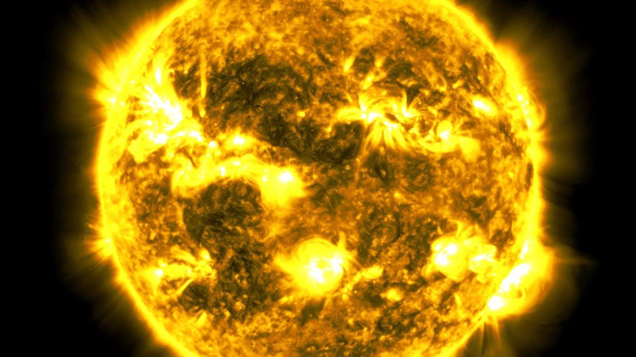 NASA показало 10 лет из жизни Солнца на одном видео