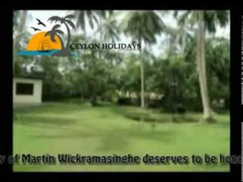 Martin Wickramasinghe by Ceylon Holidays CMB