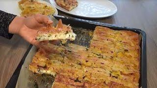 Pileli Börek Tarifi / Patatesli Peynirli   Hatice Mazı ile Yemek Tarifleri