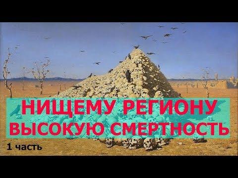 Псковская область - регион с самой высокой смертностью в России, 1 часть