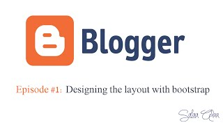Episode #1: Designing the layout with bootstrap