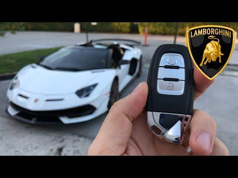 Lamborghini Aventador SVJ Roadster 2020 | Encendido