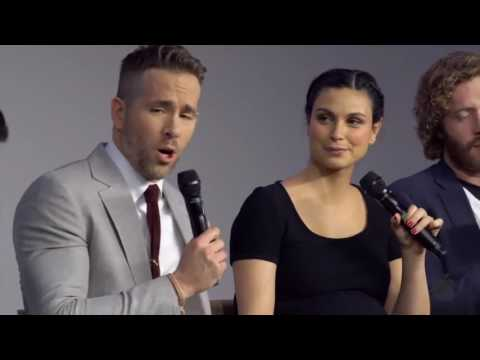 Deadpool Cast Interview with Ryan Reynolds, Morena Baccarin, TJ Miller and Ed Skrein