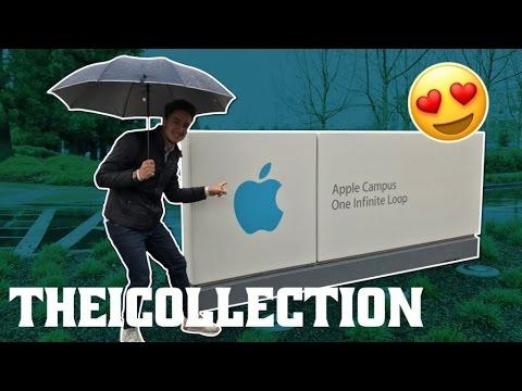 Je suis allé chez Apple à Cupertino !
