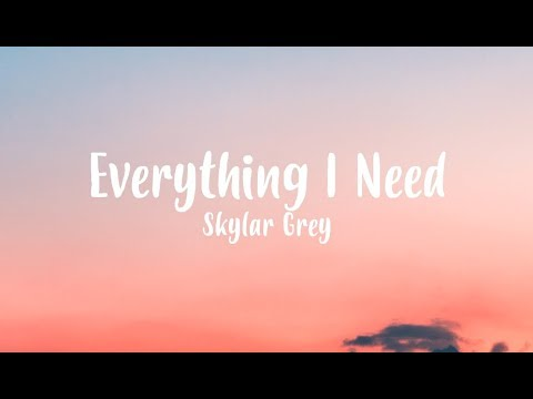 Skylar Grey - Everything I Need (Film Version) - Aquaman Soundtrack [Lyric Video]