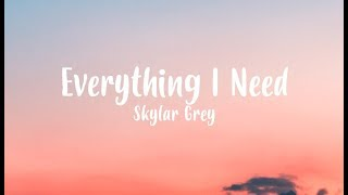 Skylar Grey - Everything I Need (Film Version) - Aquaman Soundtrack [Lyric Video]