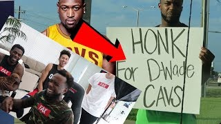 IM THE REASON WHY DWYANE WADE SIGNED WITH LEBRON JAMES AGAIN! CAVS BEATING THE WARRIORS