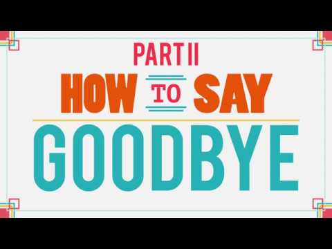 How to Say GOODBYE in Korean (to people staying) | 90 Day Korean