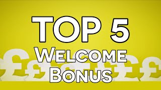 Top 5 Mobile Casino Welcome Bonuses - Pick of the Best Welcome Bonuses