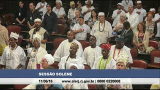 Black Royalty: Brazil's parliament officially welcomes Ooni Adeyeye Enitan Ogunwusi Ojaja II