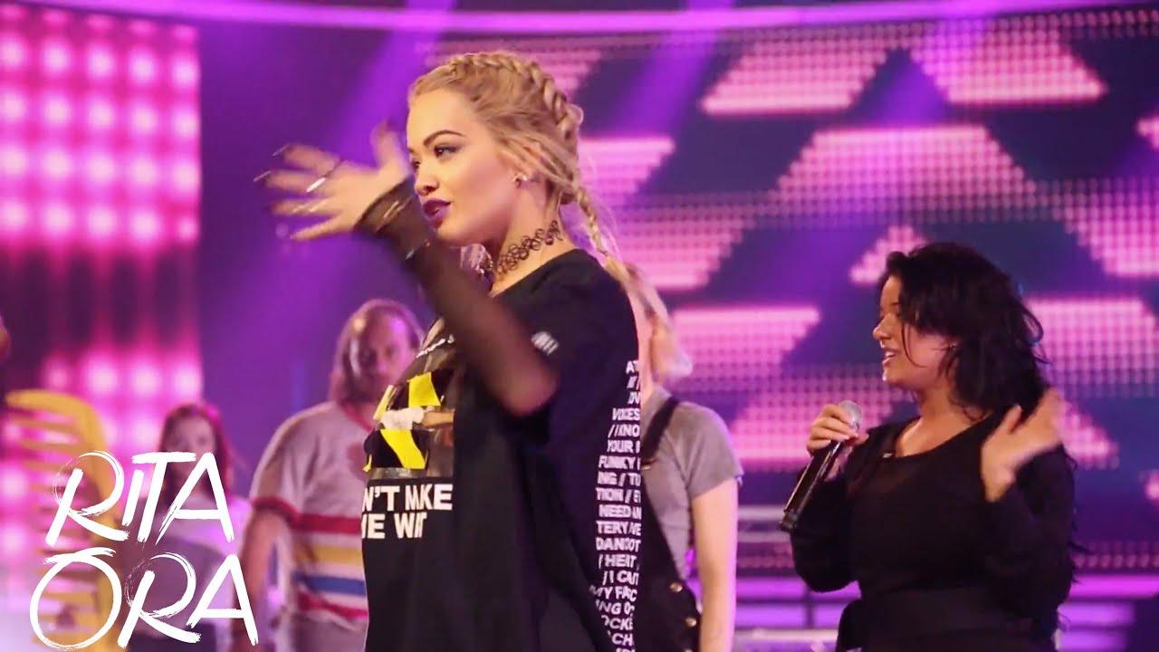 RITA ORA | X Factor rehearsals, Kiss Halloween party & Unicef fundraiser [Dressing Room Diaries]