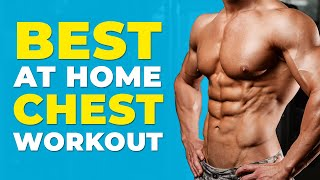 Best at Home Chest Workout | Bodyweight Only | Alex Costa