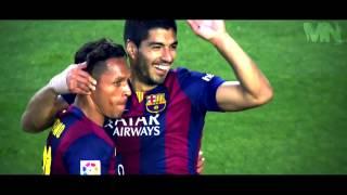 أفضل 10 أهداف لـ MSN برشلونة !
