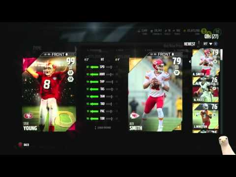 Madden 16 Ultimate Team :: First 99 Overall QB! 99 Steve Young! ::-XBOX ONE Madden 16 Ultimate Team