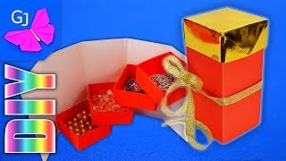 Оригами Шкатулка своими руками