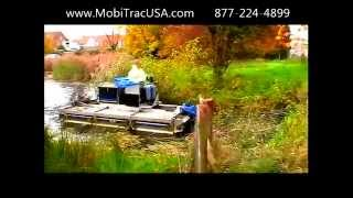 MobiTracUSA - Amphibious Harvester, Mower, Collector, Dredger, Excavator