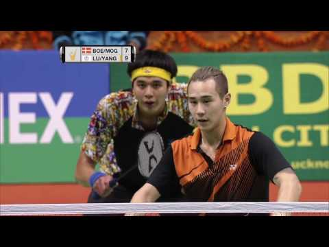 Syed Modi International Badminton C'ships 2017 | F M2-MD | Boe/Mog vs Lu/Yang