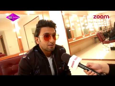 Ranveer Singh interview with Zoom TV   Padmaavat