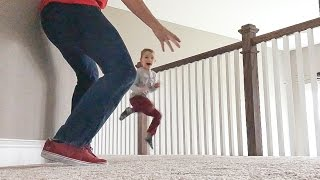 Dad Scares 4 Year Old OVER AND OVER!