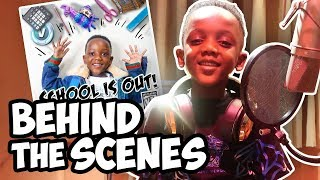 behind the scenes of super siah school is out song