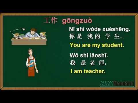 Learn Chinese: Free Mandarin Lesson 16 : What do you do? Occupation in Mandarin Chinese 职业