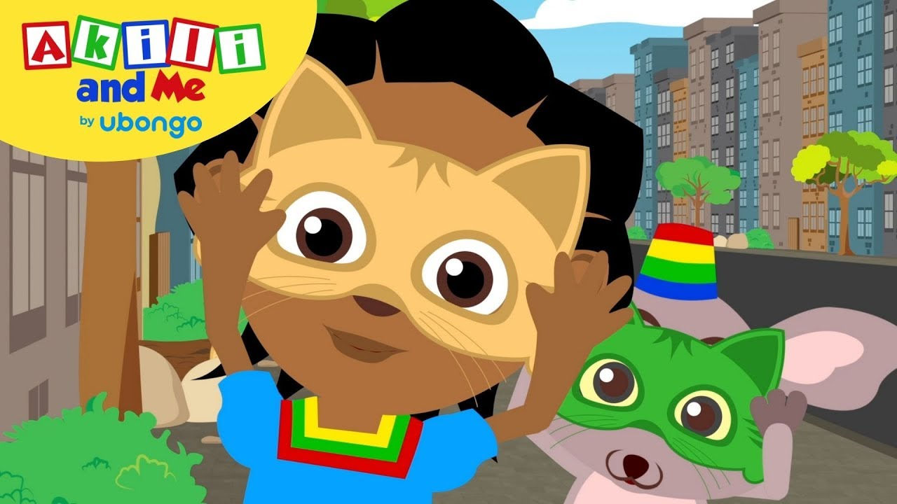 Don't be Scared!   Compilations from Akili and Me   Educational Cartoons for Preschoolers