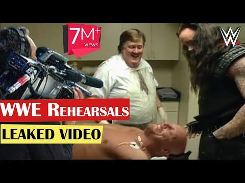 WWE Rehearsals   Undertaker Stone Cold Steve Austin   Leaked Video   Attitude Era