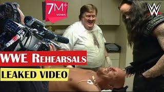 WWE Rehearsals   Undertaker Stone Cold Steve Austin   Behind the Scenes   Attitude Era