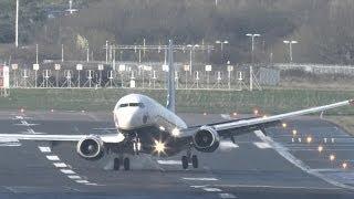Negative windshear landings