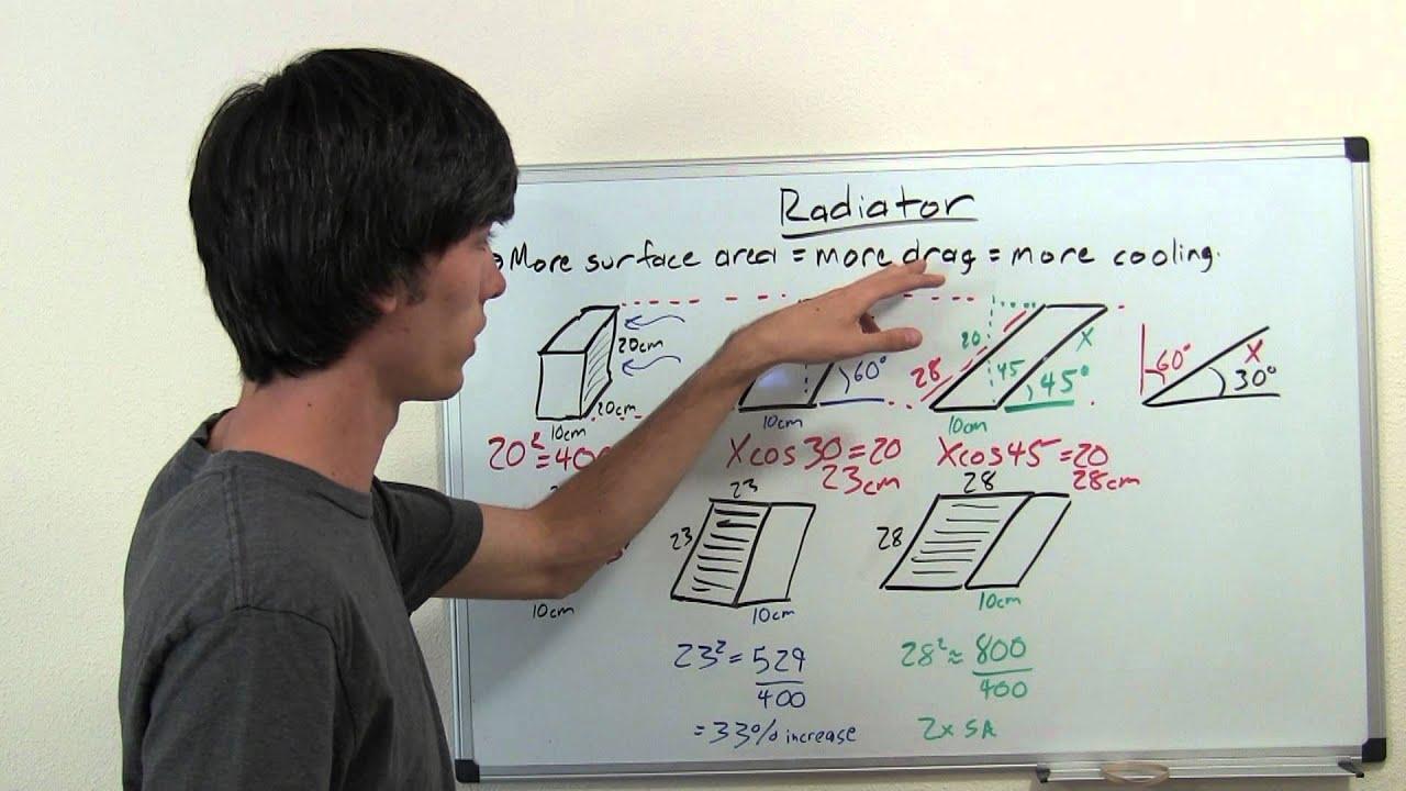 Design of a car radiator - Design Of A Car Radiator 1