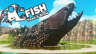 Feed and Grow Fish Gameplay German - Level 600 Größte Schlange der Welt