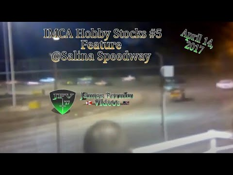 IMCA Hobby Stocks #1, Feature, Salina Speedway, 2017