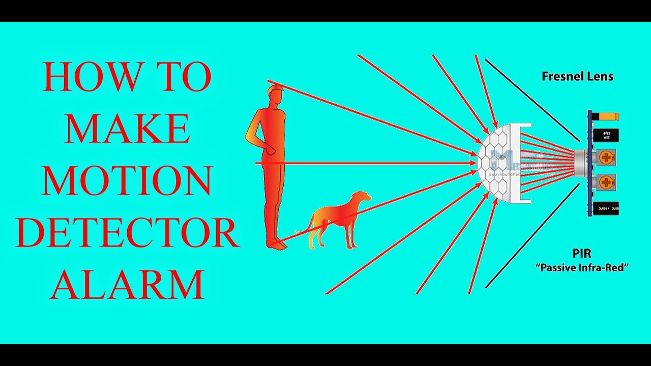 How To Make Motion Detector Alarm Using Pir Sensor in Hindi/Urdu