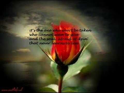 The Rose - Bette Midler
