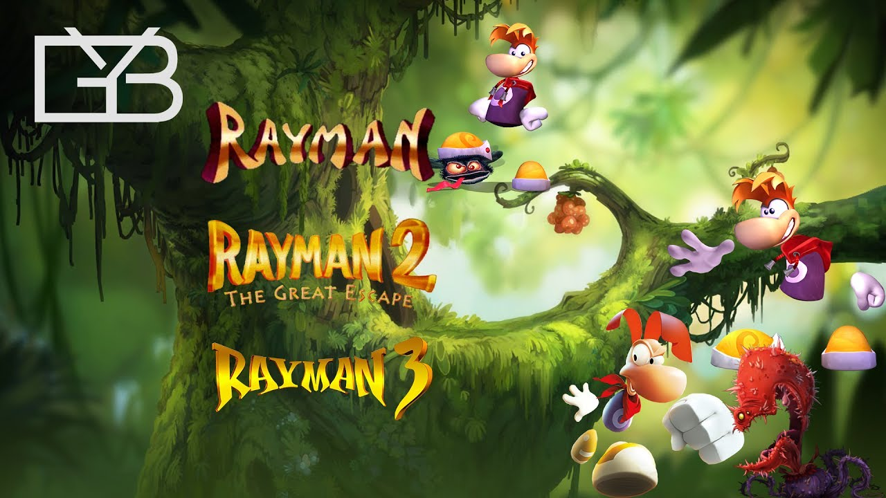 Filme Rayman intended for rayman all intros 1995 - 2016 (ps4 wii u xbox ps2 ps1 gc n64