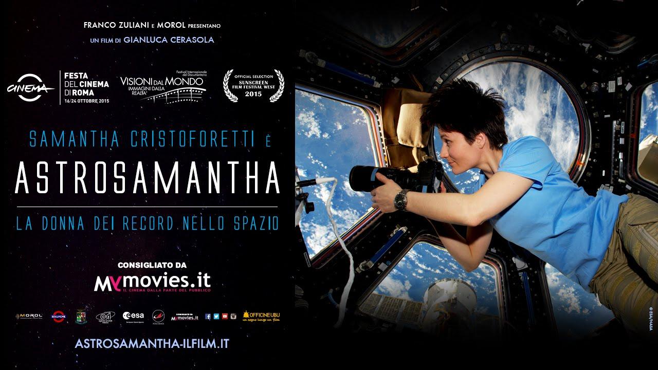 Astrosamantha - trailer ufficiale - al cinema
