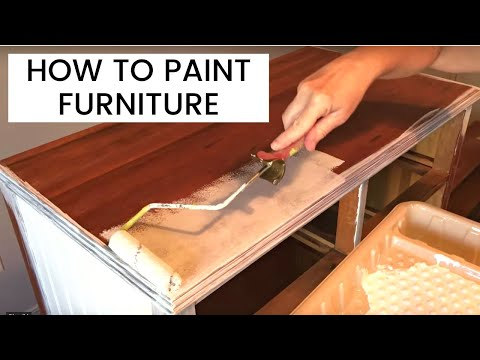 how-to-paint-wood-furniture