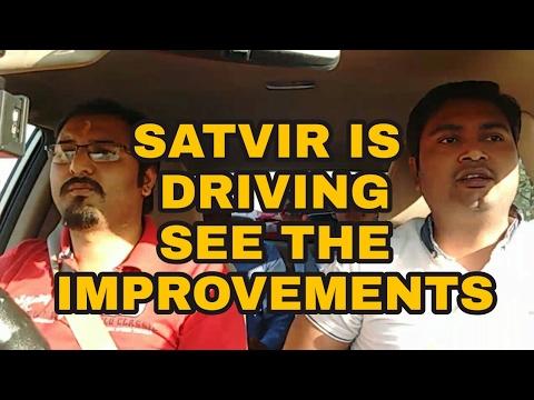 SATVIR IS DRIVING    DRIVING WITH BEGINNER    DESI DRIVING SCHOOL