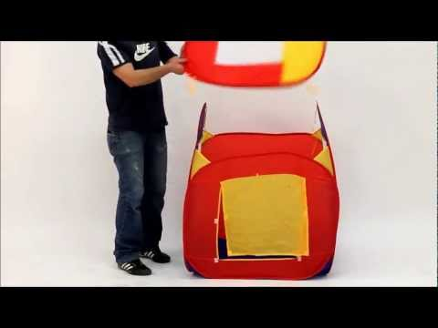 Tectake Spielzelt Mit Bällen Bällezelt Aufbauvideo Play