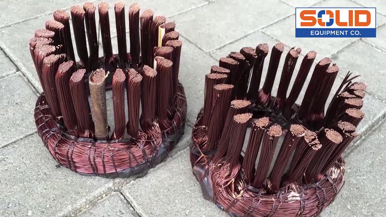 Bronneberg electric motor recycling machine solid for Electric motor recycling machine