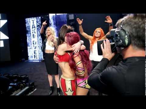 Bayley And Sasha Banks Make WWE NXT History At WWE NXT Takeover Respect Slide Show