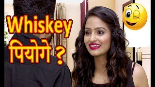 WHISKY पियोगे? | HUSBAND WIFE JOKES | COMEDY FUNNY VIDEO | WHISKEY FIGHT SHOPPING
