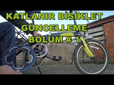 Katlanır Bisiklet Güncelleme #1 / Aynakol Dişli Değişimi