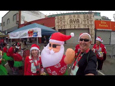 Santa Monica Venice Christmas Run December 2016