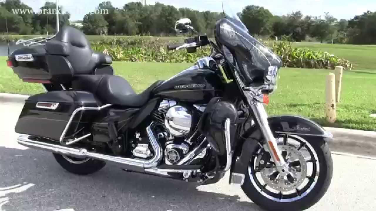 New 2016 Harley Davidson FLHTKL Ultra Limited Low - YouTube