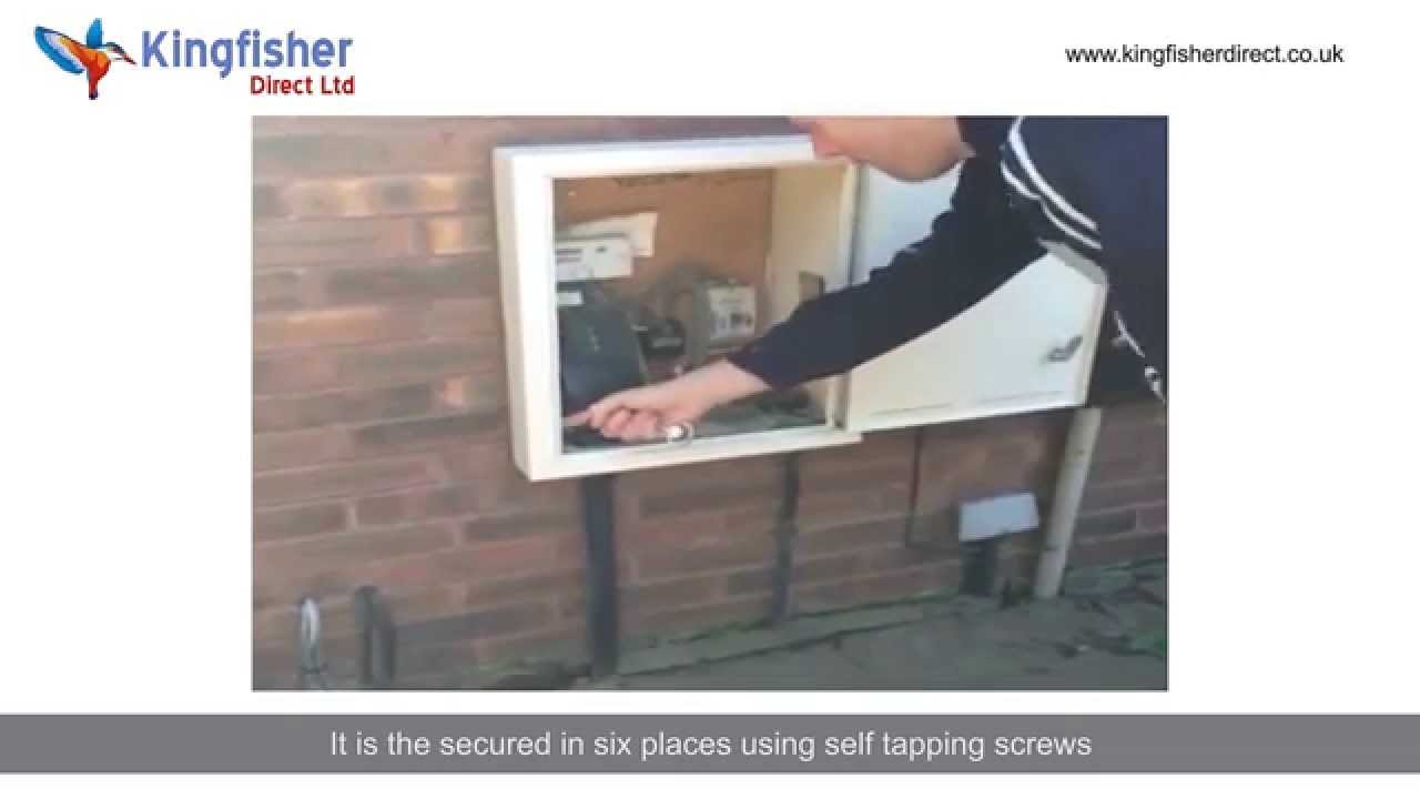 How To Repair Electricity Or Gas Meter Boxes Youtube