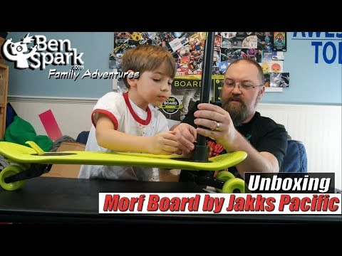 Unboxing The Morf Board Scoot And Skate Combo Set
