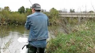 ausable river bass fishing sept 26 10