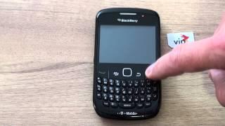 BlackBerry 8520 Curve popravka   Enter MEP code 0 left