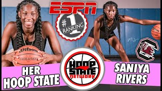 Highest Ranked Girl EVER from North Carolina ➡️ Saniya Rivers is a STAR!! 🤩 [HER HOOP STATE - ep 1]😤